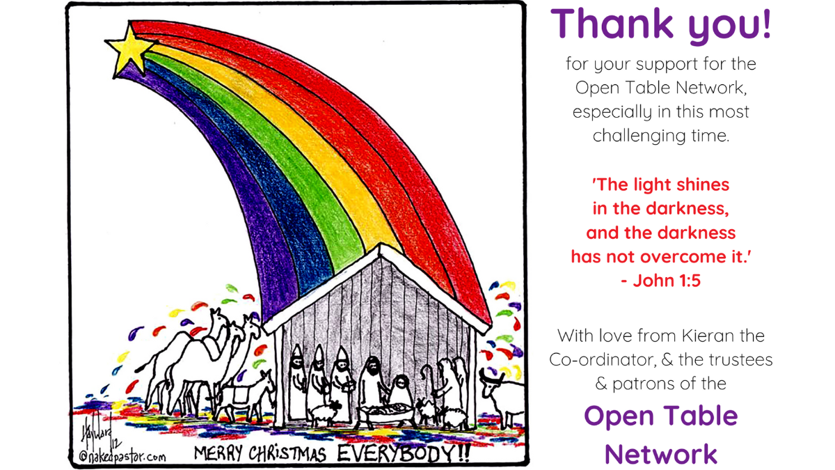 News & events from the Open Table Network of LGBTQIA+