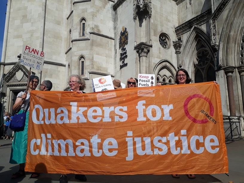 Quakers in Britain objecting to security Bill